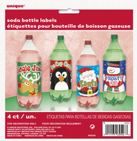 Christmas Soda Bottle Labels (4)